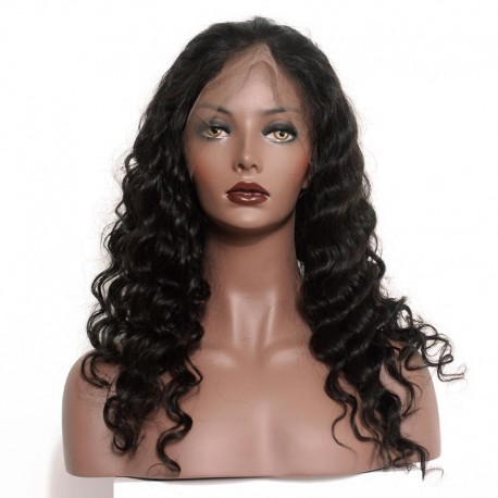 perruque lace frontale loose wave