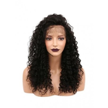 perruque lace frontale deep wave
