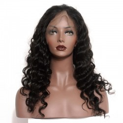 Full lace loose wave